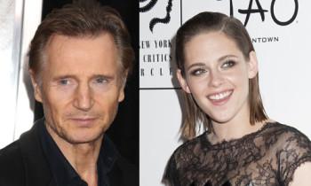 Liam Neeson & Kristen Stewart Are Undoubtedly Not Courting