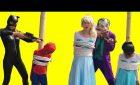 Joker kidnap Spiderman vs Elsa Black Spiderman rescue Humorous movies Spidey Tremendous Hero  Viral Vids 1482449216 hqdefault