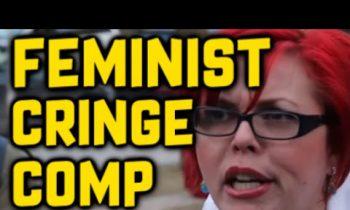 FEMINIST CRINGE COMPILATION #9 (Humorous Triggering/Karma)