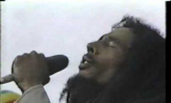 "Bob marley ""no lady no cry"" 1979"